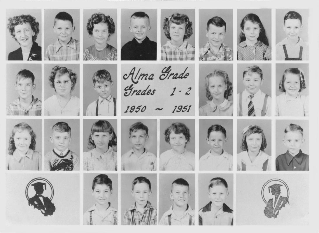1950-1951 grades 5-6 1950-1951 grades 7-8