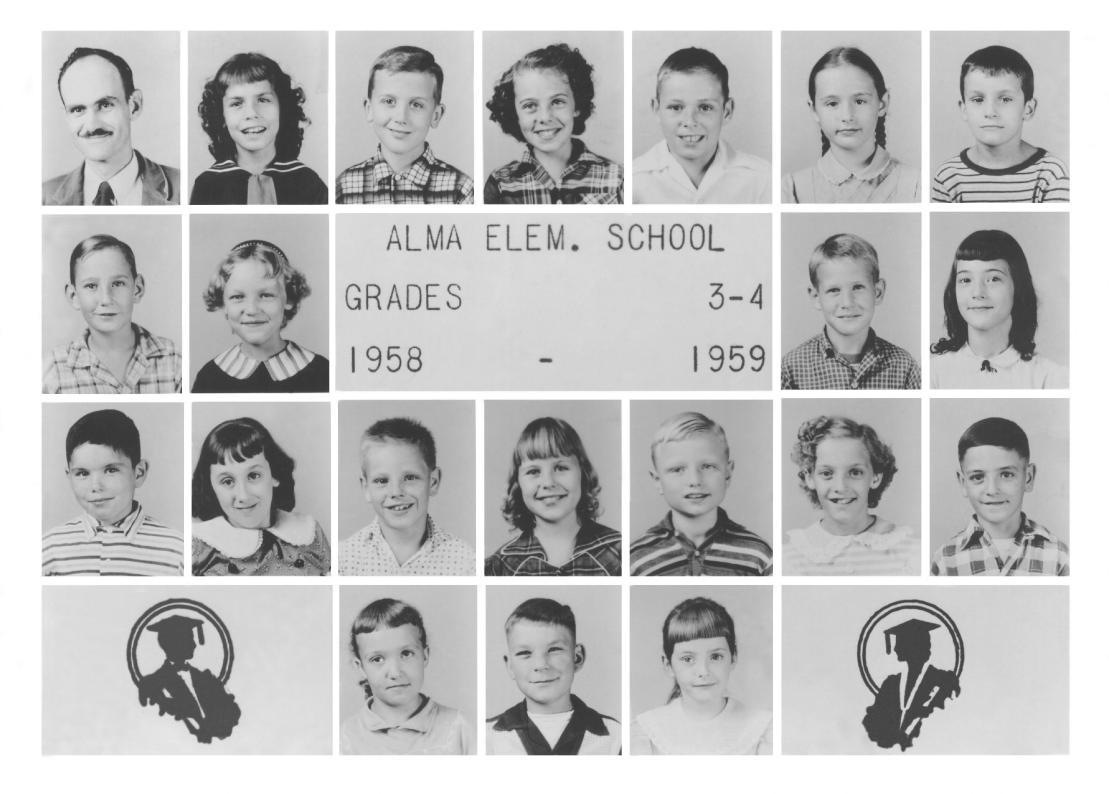 1958-1959 grades 1-2 1958-1959 grades 3-4